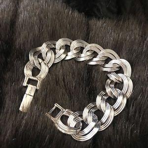 Monet Vintage Silver bracelet